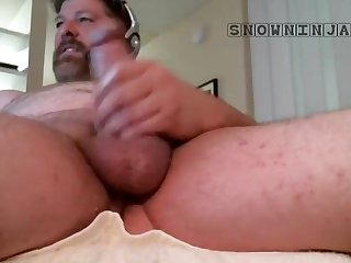 Straight verbal daddy intense cum