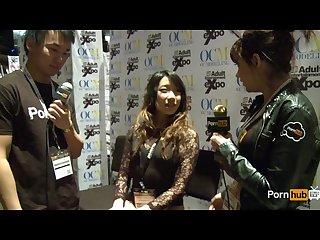 Pornhubtv meiko askara interview at 2014 avn awards