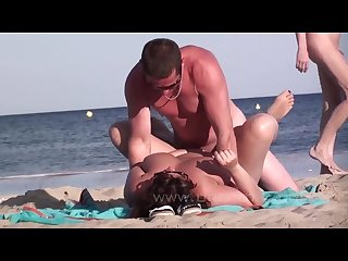 Sex on the nudist beach