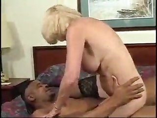 Blonde granny and bbc