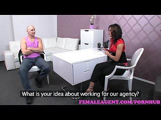 Femaleagent impressive cumshot all over agents ebautiful breasts