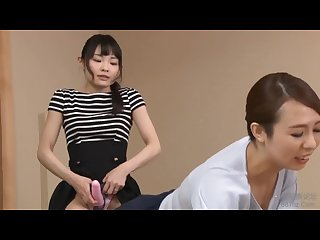 Surprise Strapon (Japanese lesbian-HD)