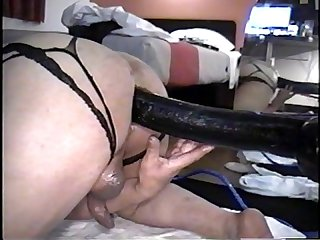 Biggest black cock ever as far as it will fit in my asshole