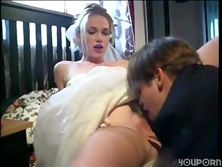 Bride fucks hubby S best friend