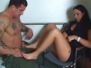 Eat my feet veronica rayne footjob