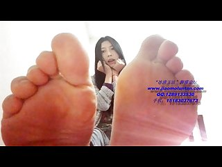 Chinese girl s feet