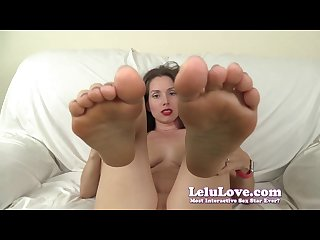 Lelu love virtual footjob anal missionary creampie