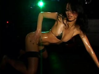 Micro bikini oily dance 3 scene 5 yoko