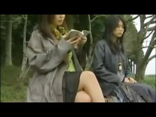 Japanese lesbian groped in Bus anyone know the movie names