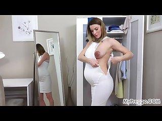 Fashion show leads to hot masturbation