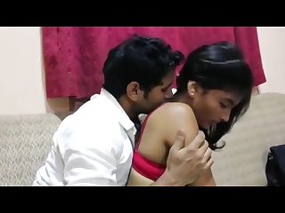 Office boy Romance with boss sexy wife in house