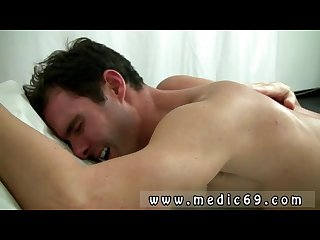 Young straight soft penis movies gay first time leaned over the table and