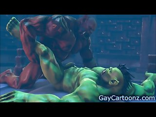 Orcs fuck gay Cartoon 3d Yaoi