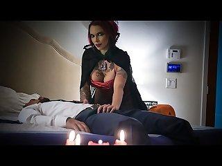 Mylf hot Vampire sucks fat cock