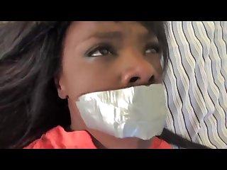 Black girl tied up black girl
