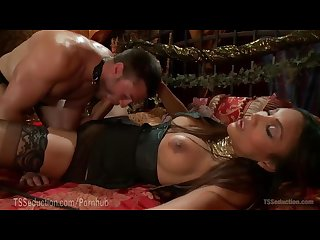 Yasmin lee dominates slave s ass