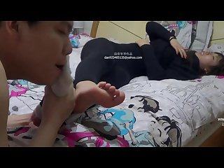 Chinese foot tickle 1