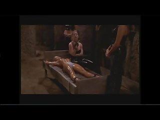 Electro torture scene slave torture