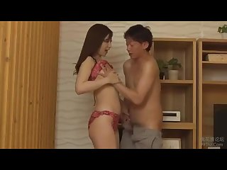 Superb wife provides amazing japanese blowjob