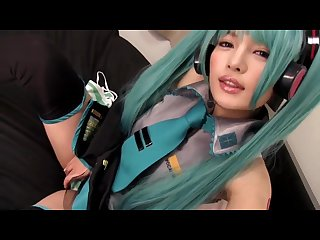 Cute hatsune miku japanese cosplayer 39