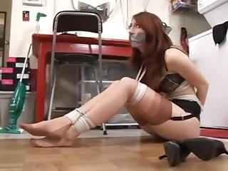 Kendra james bound and gagged