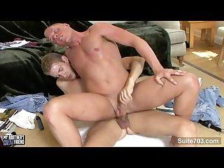 Blonde gays banging their asses