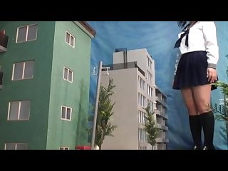 Giantess schoolgirl