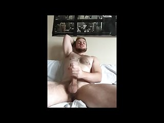 Cute hairy guy jack off cum