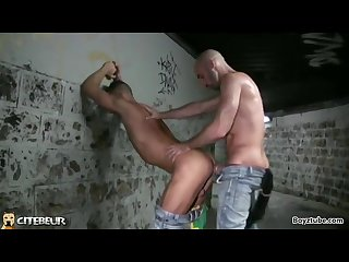 Hardcore under the tunnel