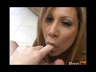 Big tit milf sucking and tittyfucking