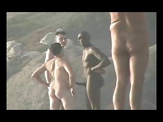 Solo gay sex beach