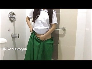 Pinay shs teen student squirts for the first time