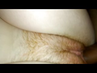 Sexy redhead fucked while parents sleep 1 bed over