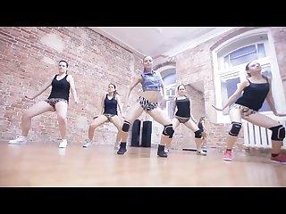 Sexy russian twerking dance team forma monster winer