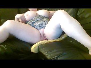 Horny Masturbating Big Tits Milf