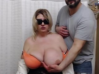 Bbw plumper mature tricked into auditioning for best breast award xxx