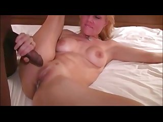 Blonde get pussy and mouthfilled
