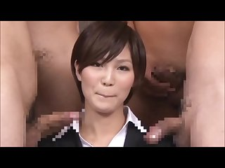 Japanese uniform news compilation jav