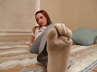 Amber lily smelly sweaty socks