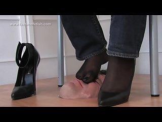 German foot domination kathrin 2