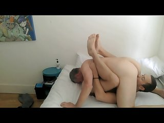 Daddy S home dad and son bareback fuck suck and rim
