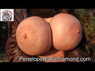 Penelope black diamond outdoor seethrough