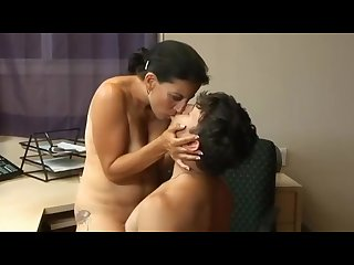 Boss milf fucks the employee getting multiple orgasms