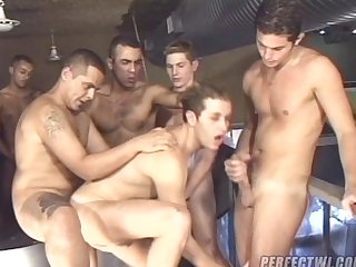 Brazilian mega gangbang part 2