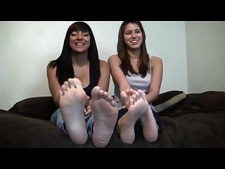 Victoria and friends bare soles