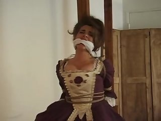 Lady chambers poletied by a pirate