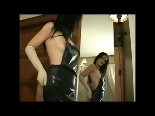 Latex gloves women fetish compliation 1