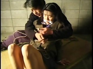 Japanese schoolgirl bondage 2