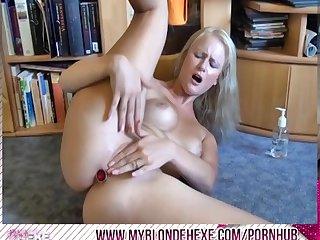 Blondehexe mein extremer squirt orgasmus