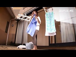 Sexy japanese mom didn t notice her minidress was too short enjoy upskirt
